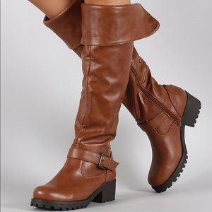 Chestnut• Bamboo• Capture• Side Stud Riding Boots